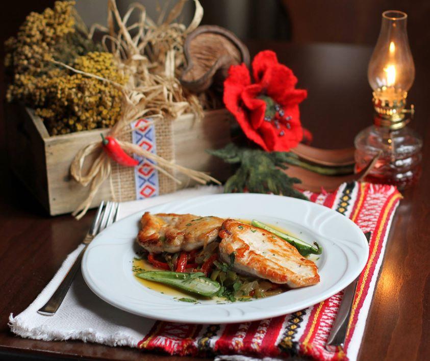 bulgarian meal at moma