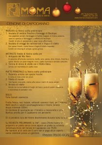 new year menu italian